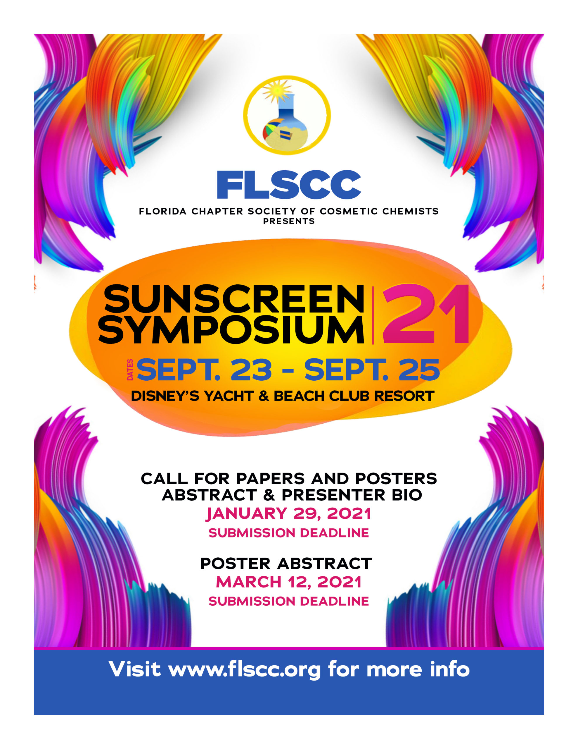 Sunscreen Symposium 2021 Flyer